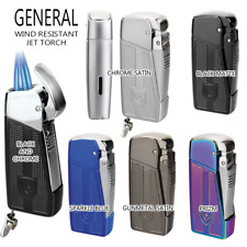 Vector KGM General Triple Jet-Torch Lighter  - All Colors,FAST Free Shipping