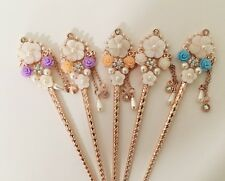 Sakura Flower Design Hair Stick with Pearl and Shell