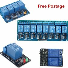 5V 1/2/4/8 Channel Relay Module With Optocoupler For Arduino PIC AVR DSP ARM Co