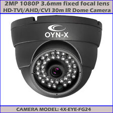 2.4MP 1080P CCTV HD-TVI 30M IR HD WDR AHD TVI CVI Dome Camera OYN-X 4X-EYE-FG24