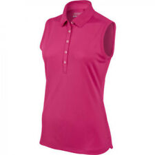 Nike Ladies Sleeveless Victory Golf Polo - Pink