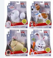 The Secret Life Of Pets Walking And Talking Pets Figures 4+