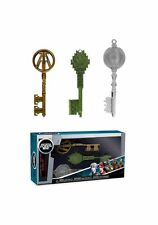 Ready Player One: Keys 3 Pack-Green, Clear and Cop
