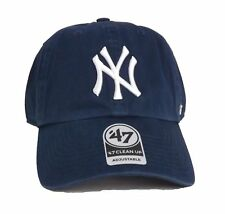 B-RGW17GWS-LN_Gorra 47 Brand – Mlb New York Yankees Clean Up Curved V Relax Fit