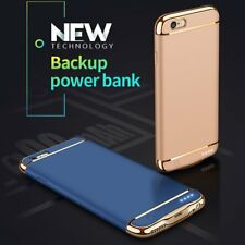 External Battery Power Bank Backup Charger Case Cover for iPhone 6/6S/7/7P LRW