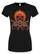 Metallica Rebel Women's Black T-shirt