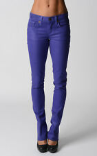 Ralph Lauren Womens Skinny Jeans Stretch Denim Purple Wash Gift For Her NWT
