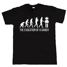 Evolution Of A Gamer FUNNY T-SHIRT - Gaming Fortnite Xbox PS4 Mens Birthday Gift
