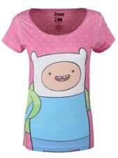 Adventure Time Finn Women's Pink AT Polka Dot T-shirt