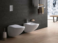 Cielo wall toilets and bidet Fluid wall toilet and bidet FLVS+FLBS