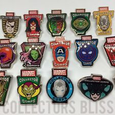 Funko Marvel - MCC Collector Corps Exclusive - Avengers & X-Men Pin Badges