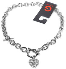 G by Guess GIOIELLO COLLANA NECKLACE COLLIER ARGENTO CUORE CATENA BEAUTY