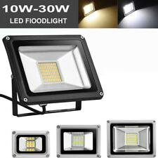 10W 20W 30W LED Flood Light 12V Outdoor Garden Wall Security Lamp Cool/warm IP65