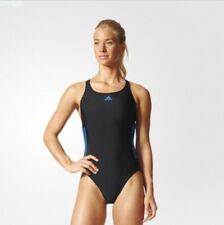 adidas Infinitex 1 piece Swimming Costume Black BNWT free 1st delivery BP9506