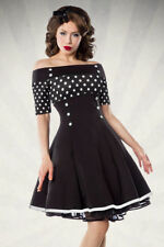 Femme robe ROCKABILLY pin up vintage retro années 50 rock roll dress pois polka