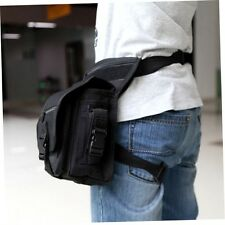 Outdoor Tactical Military Drop Leg Bag Panel Utility Waist Belt Pouch Bag PL