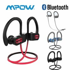 MPOW Auriculares Inalámbricos Bluetooth Deportivos Earbud Impermeable IPX7 Micro