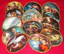 STAR TREK COLLECTORS PLATES VARIOUS SERIES - SELECT INDIVIDUAL PLATE