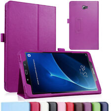 Samsung Galaxy Tablet Tab A 10.1 (2016) T580 P580 T585 P585 Leather Stand Case
