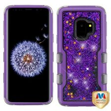 Purple Sparkle Glitter Phone Case Cover for Samsung Galaxy Note 8 S9 / S9 Plus +