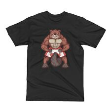 Canada T Shirt Bodybuilding Men Muscle Tee Canadian Beaver Fitness Gym Shirt