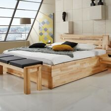 bett 180x200 massiv holz rustikal mit riesigen bettkasten. Black Bedroom Furniture Sets. Home Design Ideas