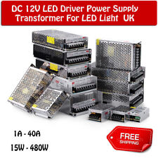 LED Driver Power Supply Transformer AC 240V to DC 12V IP20 For LED Strip Light