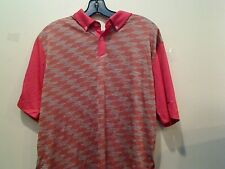 NIKE UOMO TOUR PERFORMANCE MODA Jacquard Golf Polo Maglietta Medium RISPARMIA