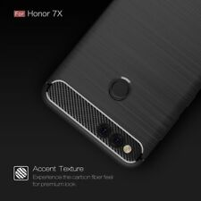 For Huawei Honor 7x Premium Brush Pattern Soft Silicone Back Cover Case