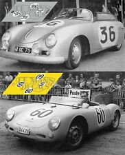 Calcas Porsche 356 Le Mans 1957 36 1:32 1:24 1:43 1:18 slot decals