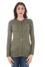 59456cardigan donna fred perry donna cardigan verde fred perry con scollo t…