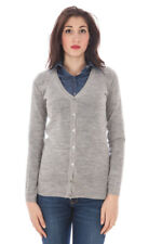 59571cardigan donna fred perry donna cardigan grigio fred perry con maniche…