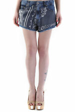 73342shorts donna 525 525 donna shorts made in italy: chiusura frontale a c…