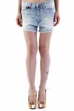 73664shorts donna sexy woman shorts made in italy: chiusura frontale con bo…