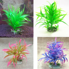 LC_ Artificiel décoration plante en plastique Aquarium Poisson faux herbe