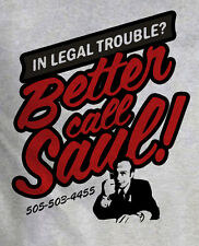 Better Call Saul Goodman Breaking Bad pesante con grigio t-shirt idea regalo