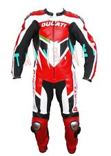 DUCATI CORSE MOTORBIKE RIDING MOTORCYCLE RACING MOTOGP LEATHER SUIT