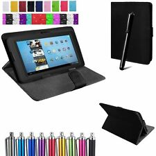 """Universal Flip Case Cover Stand Fits Energy Tablet 8"""" Inch Max 3 Tablet + Pen"""