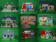 Postman Pat SDS Buildings_Ted's Garage_Train&Police Station_Post&Sorting Office