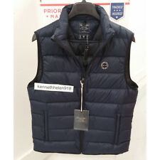 ABERCROMBIE & FITCH MENS LIGHTWEIGHT DOWN FILLED PACKABLE PUFFER VEST NAVY SZ M