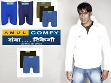 (PACK OF 3) Amul Comfy Men's Cotton Trunk/Underwear ★EXCLUSIVE BRANDED PRODUCT★