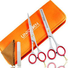 Professional Barber Hairdressing Thinning Scissors Set 6.5'' ,comb