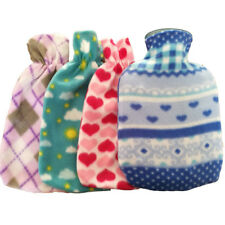 Portable Hot Water Bag Hand Warmer Bottle Flannel Washable Anti-scal Cloth Cover
