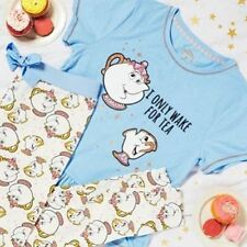 Primark Mujer Disney Beauty and the Beast Mrs Potts Chip COPA Pijama TOP
