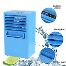 Air Cooler Conditioner Fan Portable Mini Humidifier Cooling Water Quiet Desktop