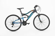 NEW Mountain Multi-suspension bike, 26 Inch, 17 Inch Frame, GREENWAY (MATT BLK)
