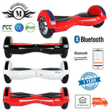 "6.5"" Patinete Eléctrico Bluetooth LED Monopatín Self-Balance Scooter Hover Board"