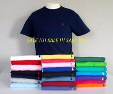 Men's Ralph Lauren 100% Cotton Short Sleeve Polo T-shirts. All Size:S- XXL