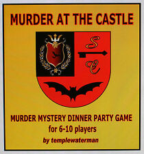 'HALLOWEEN' GOTHIC HORROR MURDER MYSTERY DINNER PARTY GAME ~ for 6-10 players