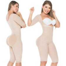 Body Colombian with Cummerbund of Latex Reducer of Use Interior//Body Shaper